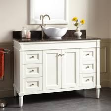 Vessel Sink Vanity White Freestanding Sink Vanity Signature Hardware