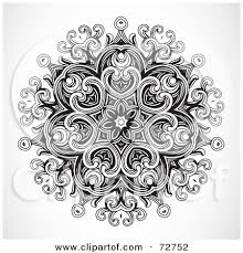 Black And White Design Simple Black And White Designs Black And White Floral Design