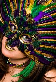 mardi gras masks for women up of woman in mardi gras mask stock image image of