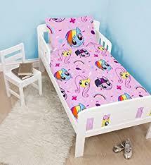 My Little Pony Toddler Bed Boys Peppa Pig George Pig Digger Junior Toddler Cot Bed Duvet
