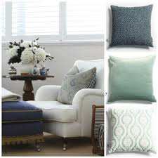 Beautiful Sofa Pillows by Navy Blue Couch Pillows With Beautiful Navy Blue Couch With White