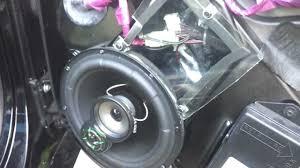 c6 corvette stereo upgrade c5 corvette lanzar door speakers