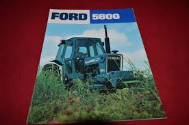 ford 5600 tractor blue power special dealers brochure dcpa5