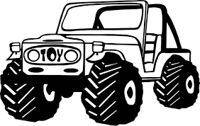 jeep toy car coloring wecoloringpage