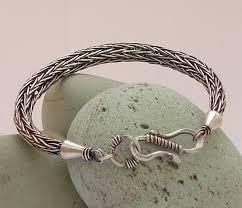 silver woven bracelet images Viking knit bracelet sterling silver viking weave bracelet jpg
