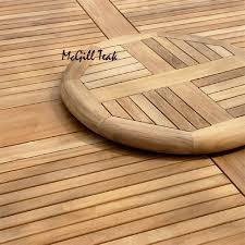 Teak Patio Flooring by Mardel