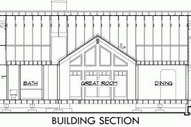 one level house plans single level craftsman house plans split