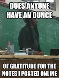 Gratitude Meme - rasta science teacher memes quickmeme