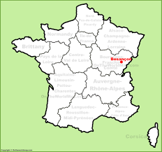 Map France by