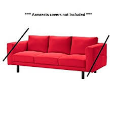 Red Loveseat Ikea Amazon Com Ikea Norsborg Slipcover For 3 Seat Sofa Section