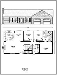 breathtaking 9 simple rectangular 4 bedroom house plans innovative