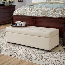 furniture white tufted bench with tray on walmart rugs plus dark