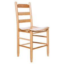 dixie seating morrisette shaker style ladder back dining chair