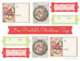 free printable chic vintage christmas gift tags u2013 frugalful