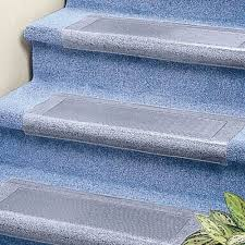 clear stair treads carpet protector clear vinyl will look good