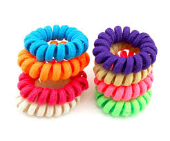 hair scrunchy online shop 10 pcs lot 4 cm high quality telephone wire line cord