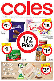 coles catalogue mothers day coles catalogue 6th may