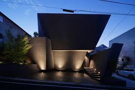 architects design a modern geometric home