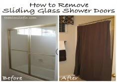 How To Clean Shower Door Tracks Removing Sliding Glass Door From Track How To Clean Your Sliding