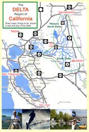 California Road Map Deltacalifornia Com U2013 Welcome To The Delta In Northern California