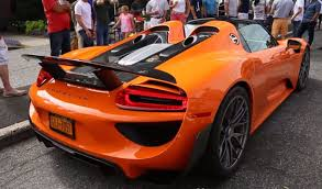 orange porsche convertible how to store the roofs of the porsche carrera gt and 918 spyder