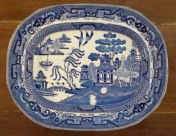 willow pattern jam pot large blue willow platter willow pattern wedgwood and blue willow