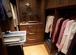 contemporary walk in wardrobe strachan
