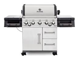broil king imperial 590 5 burner gas grill with side burner