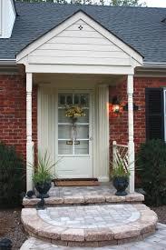 brick house front porch ideas