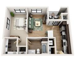 1 Bedroom House Floor Plans 56north Phoenix Apartment Floor Plans U0026 Availability