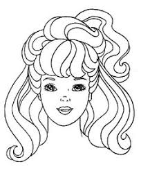barbie painting doll coloring pages kids coloring pages