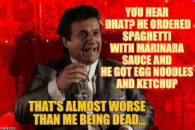 Meme Generator Goodfellas - joe pesci laughs goodfellas memes imgflip