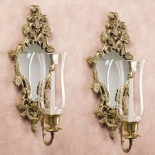 Candle Holder Wall Sconces Mirrored Wall Sconces Candle Holder U2022 Wall Sconces