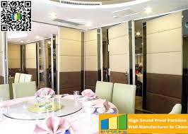 Temporary Room Divider With Door Aluminium Wall Divider Panels Decorative Wall Partition Temporary