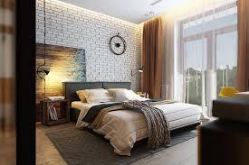 decorating ideas chic apartment bedroom interior design with black