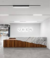 Modern Office Reception Desk by Over And Above Studio O A Designs Hq For Uber Studio Interiors
