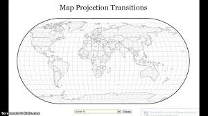 Map Projection Map Projection Transitions Youtube