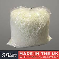 3kg memory foam bean bag crumb foam cushion pillow filling