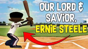 our lord u0026 savior ernie steele backyard baseball funny