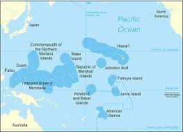 pacific region map pacific islands climate science center picsc
