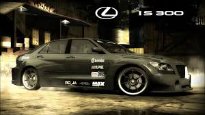 lexus is300 performance upgrades need for speed most wanted lexus is300 race youtube
