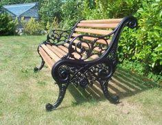 diy how to restore a cast iron and wood garden bench wrought