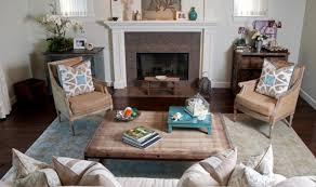 living room elegant white and turquoise coastal living room