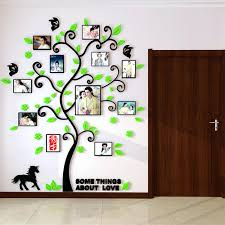 wall ideas family tree wall art family tree wall art decal family tree wall art picture frame 3d acrylic family tree wall stickers with photo frame living room green wall art decal home decoration in wall stickers
