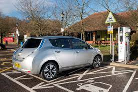 nissan leaf charging points uk drivers divided over increase in electric car charging points