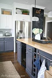 How To Update Kitchen Cabinets A Diy Kitchen Renovation Update Nine Months Later From Thrifty