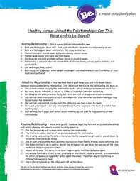 Healthy And Unhealthy Relationships Worksheets 12 Best Healthy Relationship Images On Healthy