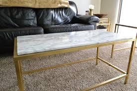 ikea hacks coffee table ikea vittsjo coffee table hack covered in faux marble or vinyl