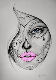 candy skull tattoo colour proiecte de încercat pinterest