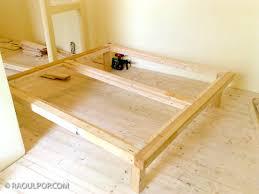 making the custom bed frame u2013 raoul pop